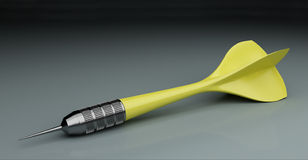Yellow dart Stock Photography