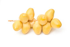 Yellow dates Stock Photography