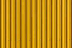 Yellow decking Stock Images