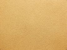 Yellow decorative plaster Royalty Free Stock Photography