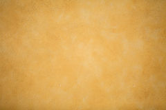 A Yellow Decorative Plaster Wall Stock Image