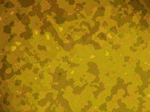 Yellow Desert Military Camouflage Effect Royalty Free Stock Photography