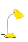Yellow desk lamp Stock Image