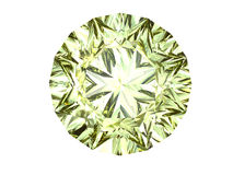 Yellow diamond Stock Images