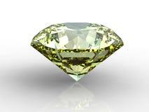 Yellow diamond Stock Photos