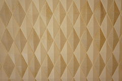 Yellow diamond pattern Royalty Free Stock Photo