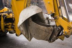 Yellow Digger Stock Photo