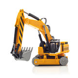 Yellow Digger Royalty Free Stock Photography