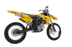 Yellow Dirt Bike Royalty Free Stock Image