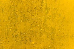 Yellow dirt wall texture Royalty Free Stock Images