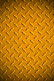 Yellow dirty metal. Royalty Free Stock Images