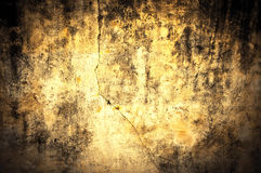 Yellow Dirty wall texture Stock Photos