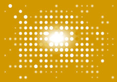 Yellow_display_digital. Yellow abstract digital display. Vector illustration Royalty Free Stock Image