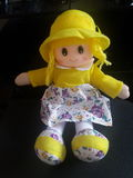Yellow Doll Stock Photography