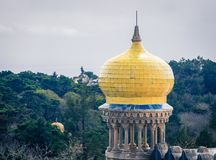 Free Yellow Dome Sintra Stock Photos - 105551453