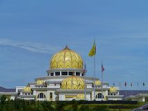 The yellow domes of the National Palace Stock Images