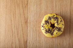 Yellow donut Royalty Free Stock Photography