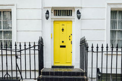 Yellow Door Royalty Free Stock Photo