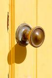Yellow Door Royalty Free Stock Photos