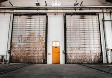 Yellow door Royalty Free Stock Images