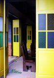 Yellow doors Royalty Free Stock Photo