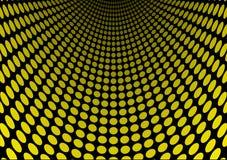 Yellow dot slide Stock Images