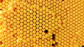 Yellow dot texture wallpaper background Royalty Free Stock Photos
