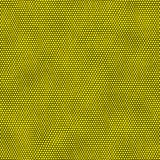 Yellow dots on black background.  Royalty Free Stock Image