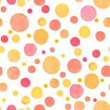 Yellow Dots Pattern Stock Photos