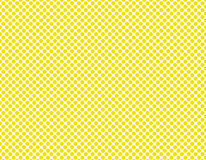 Yellow dots on white Stock Photography
