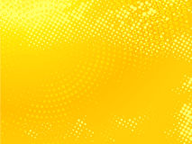 Yellow dotted background Royalty Free Stock Photography