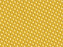 Yellow dotted pattern Royalty Free Stock Photos