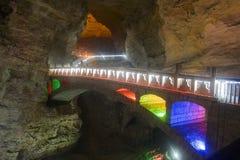 Yellow Dragon Cave, Zhangjiajie. China. Royalty Free Stock Photography
