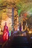 Yellow Dragon Cave, Zhangjiajie. China. Stock Images