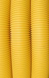 Yellow Drainage Piping Stock Image