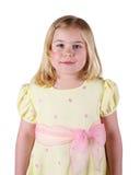 Yellow dress Royalty Free Stock Image