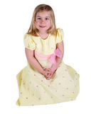 Yellow dress  Royalty Free Stock Images