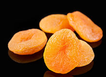 Yellow dried fruit apricot Royalty Free Stock Image