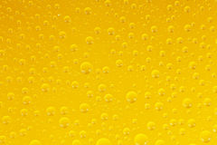 Yellow droplets Royalty Free Stock Images