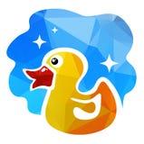 Yellow duck Royalty Free Stock Photo
