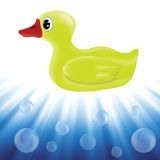 Yellow duck Royalty Free Stock Photo