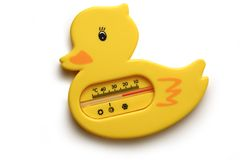 Free Yellow Duck Thermometer Stock Photos - 28744633