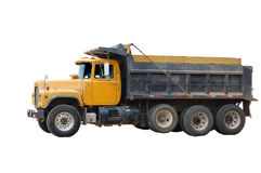 Yellow Dump Stock Photo