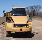 Yellow Dump Truck Royalty Free Stock Photography