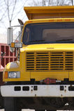 Yellow Dump Truck Royalty Free Stock Image