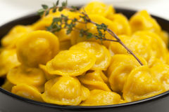 Yellow Dumplings Royalty Free Stock Photography