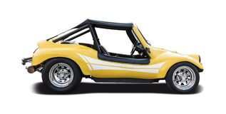 Yellow Dune buggy Royalty Free Stock Image