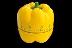 Yellow Egg Timer Royalty Free Stock Photos