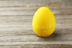 Yellow egg timer Royalty Free Stock Photography