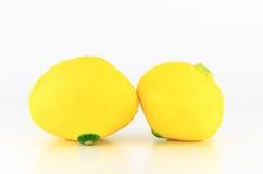Yellow eggplant Stock Photography